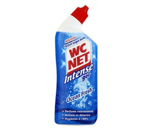 Gel Détartrant WC Net Intense Ocean Fresh 750ml