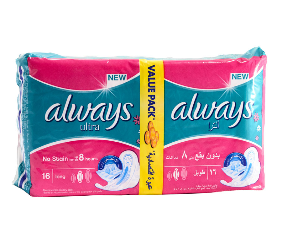Serviettes périodiques Always Duo Pack Ultra Thin Long