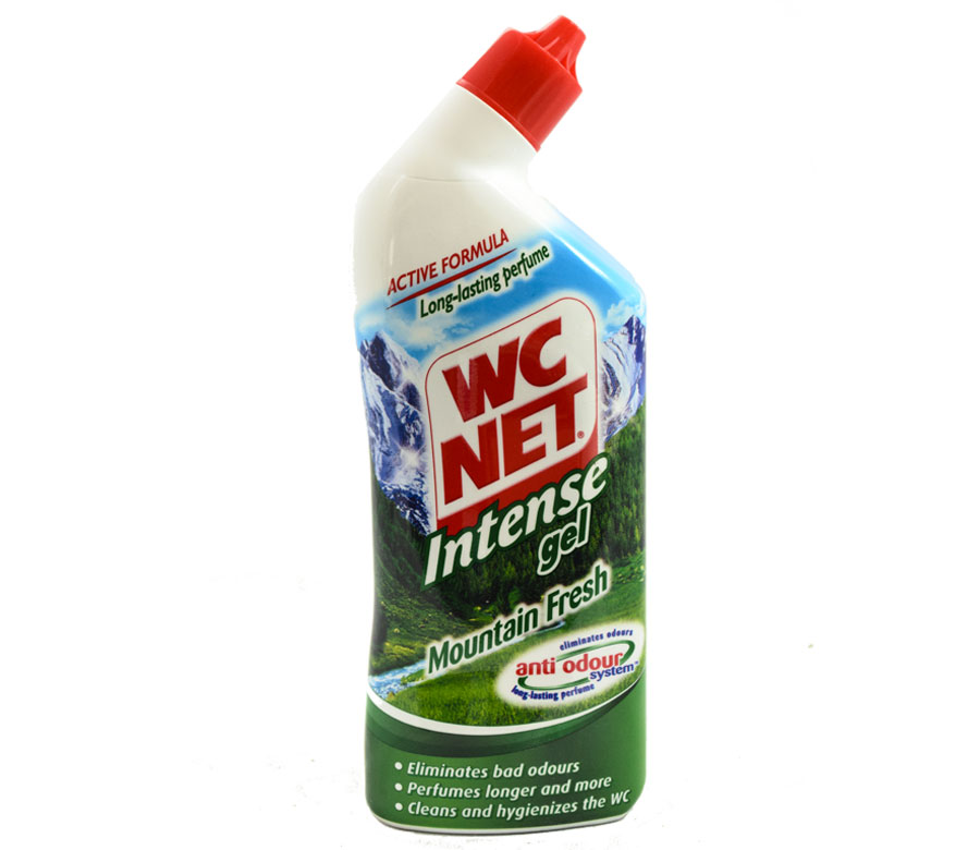 Gel Détartrant WC Net Intense Mountain Fresh 750ml
